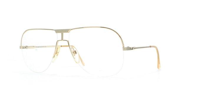 7c4837cd95 Amazon.com  Safilo Ufo 2006 Gold Authentic Women Vintage Eyeglasses ...