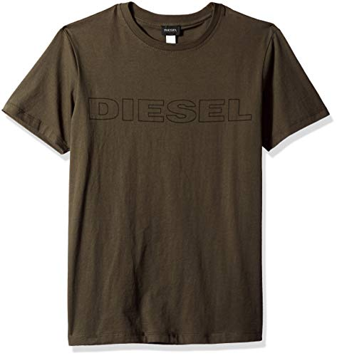 Diesel Men's UMLT-Jake T-Shirt, Olive Night, S ()