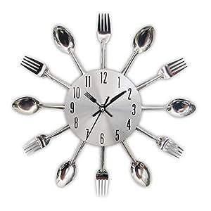 Amazon.com: Timelike - Reloj de pared 3D extraíble, diseño ...