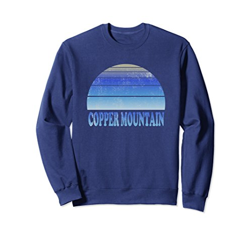 Unisex Copper Mountain Sweatshirt Clothes Adult Teen Apparel Small - Mountain Sweatshirt Copper