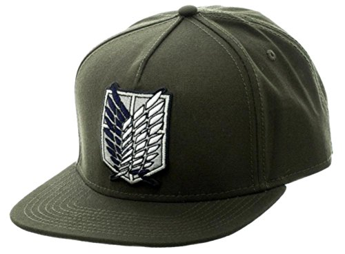 Attack on Titan - Scout Canvas Snapback Hat Size ONE SIZE for $<!--$19.95-->