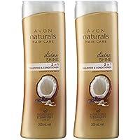 Avon Combo of Naturals Divine Shine Shampoo and Conditioner