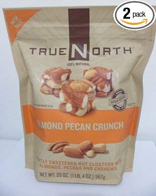 TrueNorth Almond Pecan Crunch Net Wt 20 Oz (Pack of 2) by TRUE NORTH