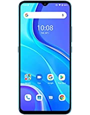 """UMIDIGI A7S Unlocked Cell Phones(2GB+32GB), 6.53"""" HD+ Full Screen, 4150mAh Battery Smartphone with 13MP Ultra Wide Triple Camera, Dual 4G Volte (Sky Blue)"""