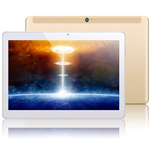 """10.1"""" Inch Google Android 10.0 Tablet PC,PADGENE 4G Phablet Pad with 4GB RAM 128GB ROM, Supports TF Card(can be…"""