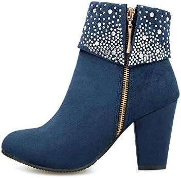 Logobeing Zapatos Mujer Tacones Botines Mujer Tacon Medio Planos ...
