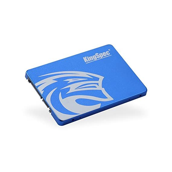 KingSpec 64GB 2.5-Inch SATA III Internal SSD (T-64) 3 High-performance, stable and reliable.Compatible with SATA2. Accelerated by newest 3D NAND technology. Sequential Read/write: 350/178 MB/s (for reference only).