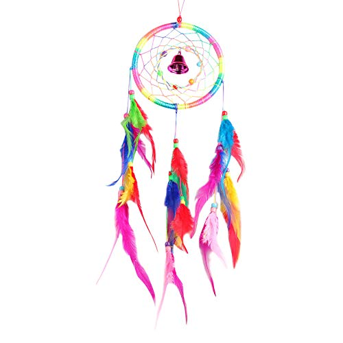 ❤️Jonerytime❤️Dream Catcher Circular Feathers Wall Hanging Decoration Decor Craft