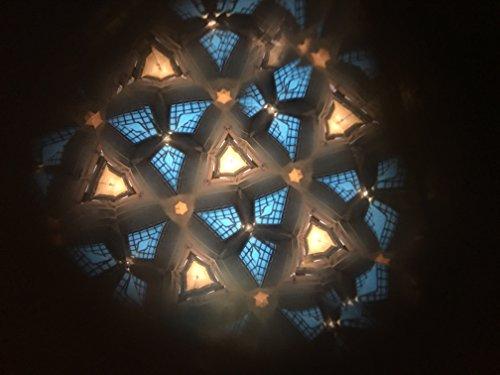 N & J Kaleidoscope Teleidoscope in Solid Teak Wood, MINI 3 Inch by N & J (Image #4)