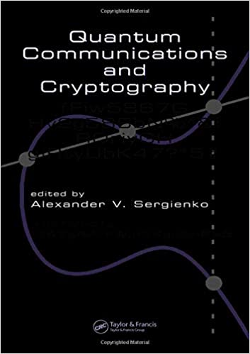 Quantum Communications and Cryptography (Optical Science and Engineering)