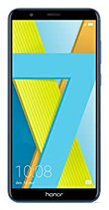 "Honor 7X - Smartphone Android 7.0 (pantalla infinita 5,93"" 18:9, 4G, cámara 16MP+2MP, 4GB RAM, 64GB almacenamiento, procesador Kirin 659 Octa-core), azul"