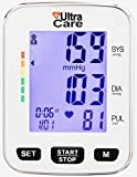 Automatic Wrist Blood Pressure Cuff Monitor by UltraCare