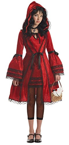 [Girls LG (10-12)- Strangeling Red Riding Hood Costume] (Halloween Costumes For Girls 22)