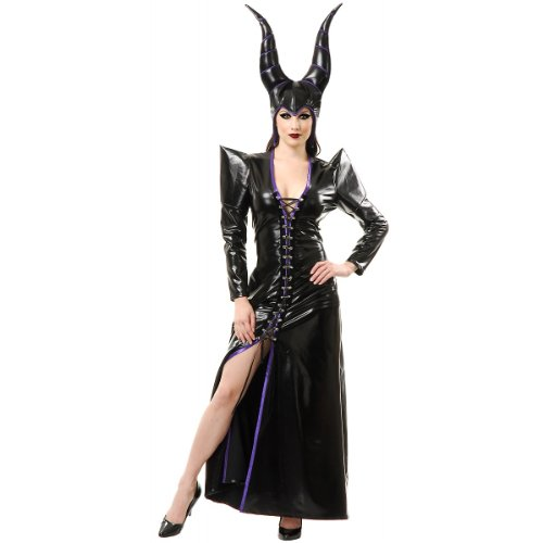 Charades Women's Witchy Woman Costume Set, Black, -