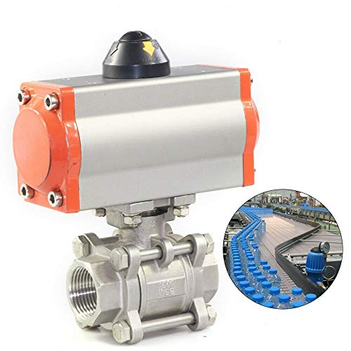 Pneumatic Actuated Ball Valve, 2
