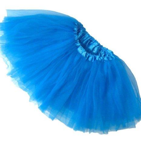 Girls Ballet Tutu Neon Blue