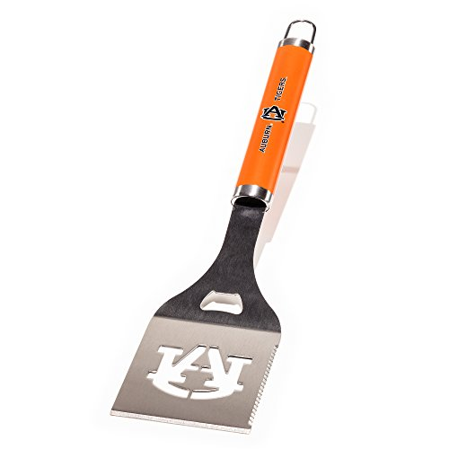 NCAA Auburn Tigers Die-Cut Stainless Steel Spatula with Color - Grilling Tigers Auburn