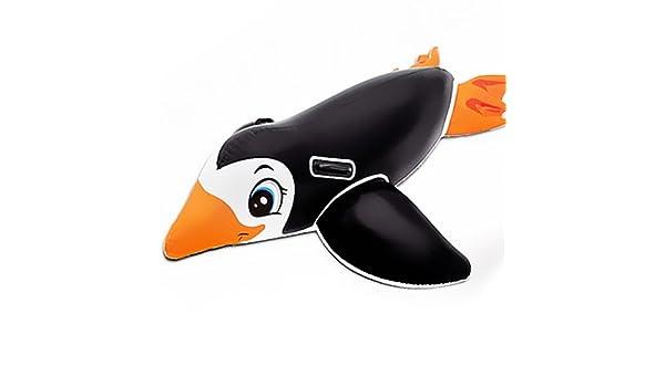 Pingüino hinchable Intex para el agua, 56558N: Amazon.es: Juguetes ...