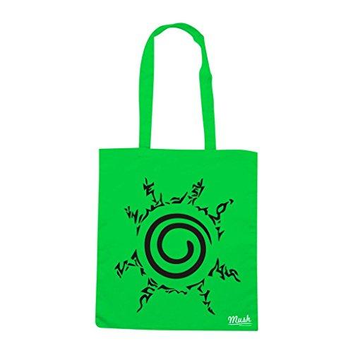Borsa Sigillo Kyubi Naruto - Verde prato - Cartoon by Mush Dress Your Style
