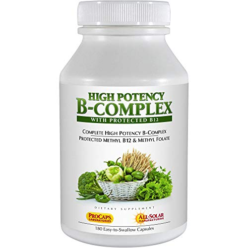 Andrew Lessman High Potency B-Complex, 180 Capsules