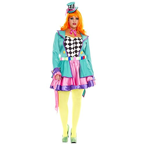 Hatter Hottie Adult Costume - Plus Size 3X/4X]()