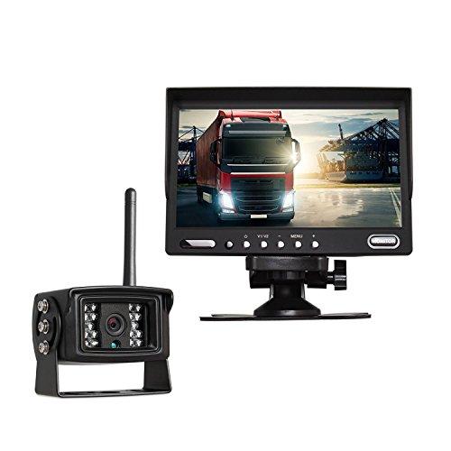 - AUTO-VOX Digital Wireless Backup Camera System Kit with 7