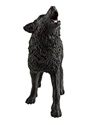 Safari Ltd. Wild Safari North American Wildlife Black Wolf