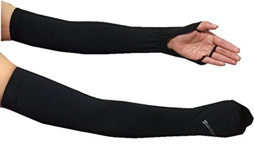 ハンドアームカバー 手の甲や腕の日焼け防止 紫外線対策
