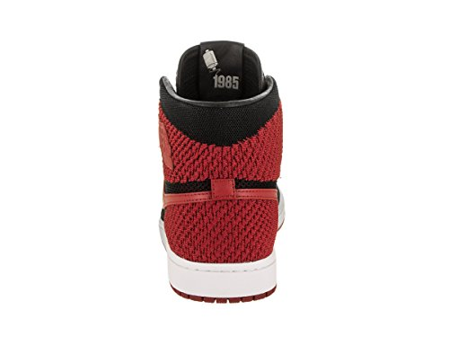 Flyknit Para Varsity white Red Retro Baloncesto Jordan De Hombre Black Zapatos 1 Hi Nike Air qXgWzwUXp