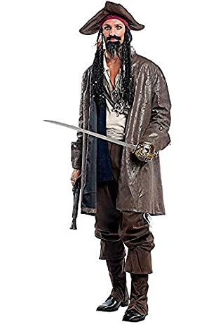 HALLOWEEN PIRATE BUCCANEER SKULL BANDANA mens fancy dress costume accessory