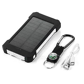 Banco de energía Solar de Gran Capacidad USB Doble Cargador ...
