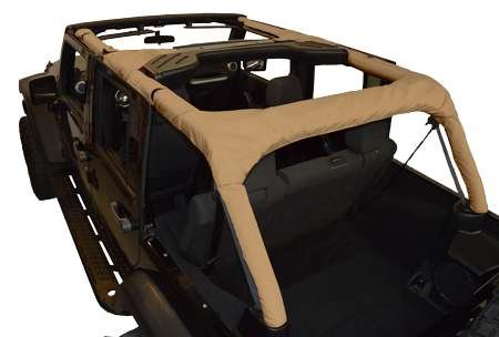 Replacement Roll Bar Cover - for Jeep JKU 4 Door - Sand (Dirtydog)