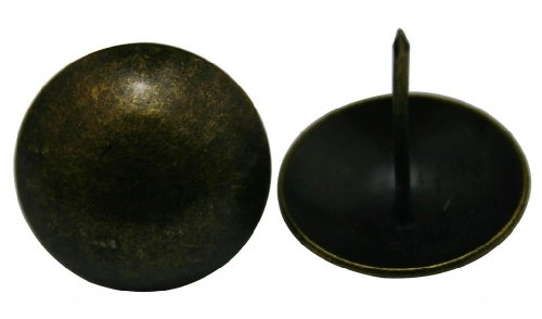 Antique Brass Round Large-headed Nail Diameter - 2