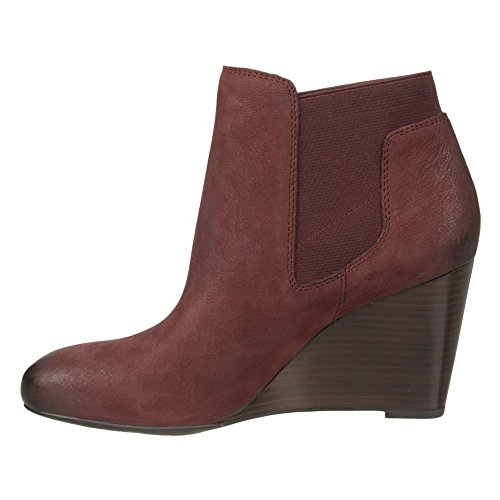 5 US Ankle Burgundy Sarto 9 Octagon Women Boot Franco pPnAaXqa