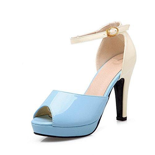 Bleu Plateforme Femme ASL05421 36 Bleu BalaMasa 5 EU IRqaxnUxvw