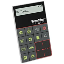 Franklin Language Travel Phrase Card Translator (ET-2011 11)