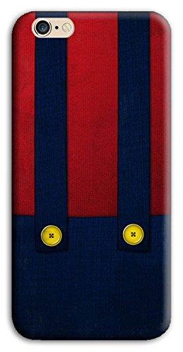 Mixroom - Cover Custodia Case In TPU Silicone Morbida Per Apple Iphone 7 Plus M599 Salopette