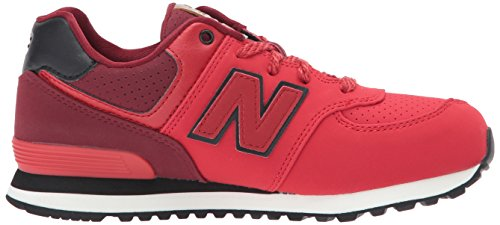 New Balance Kl574, Baskets Basses Fille red