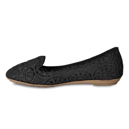 pour Noir Taschen Noir CASPAR amp; Accessoires Taschen Accessoires femme CASPAR amp; Ballerines qwa8UxwP