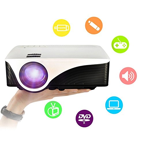Projector Portable Multimedia Theater Entertainment