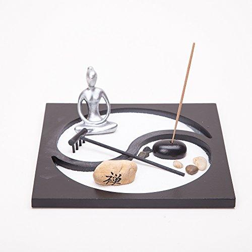 Asian Japanese Feng Shui Sand Zen Garden YinYang & Incense - Shui Feng Garden