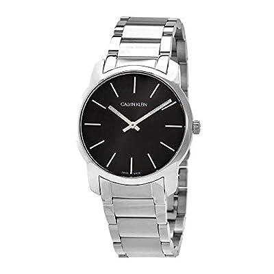 Calvin Klein Unisex Adult Analogue-Digital Quartz Watch with Stainless Steel Strap K2G22143