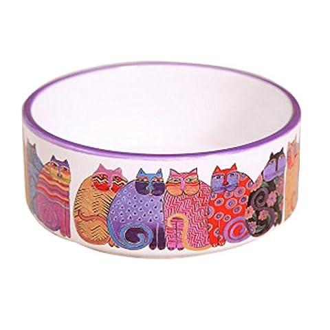 Porcelain Kittens Print Pets Bowls Dogs Cats Bowls Pet Supplies Cat Accessories - 12 Printhead