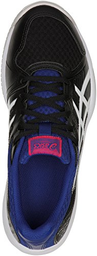 Upcourt 3 de Squash Chaussures Multicolore Asics White Black 001 Femme AwaRqvncTd