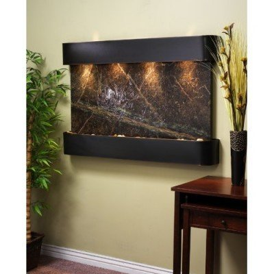 Adagio SSR1505 Sunrise Springs - Green Rainforest Marble Wall Fountain