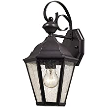 Elk Lighting 8901EW/75 Cotswold 1 Light Exterior Wall Lamp, Oil Rubbed  Bronze By