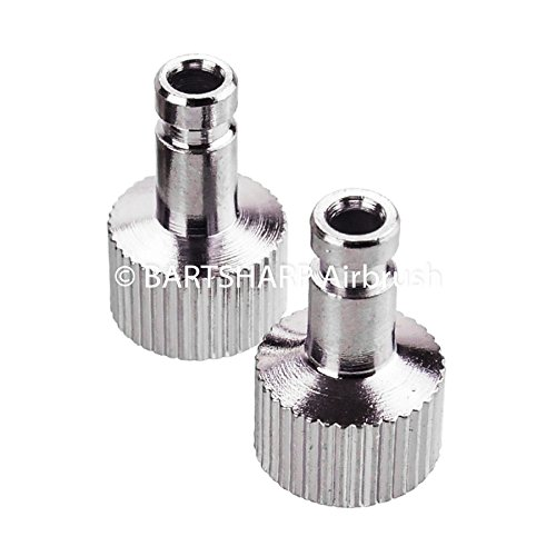 2 x Airbrush Air Hose Quick Release Coupler Airbrush Connectors 1/8 Generic