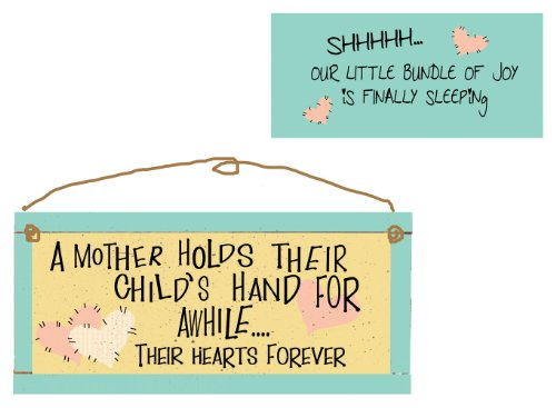 Wholesale Inspirational Plaques (Ohio Wholesale Bundle of Joy 2-Sided Wall Art, from our Baby Collection)