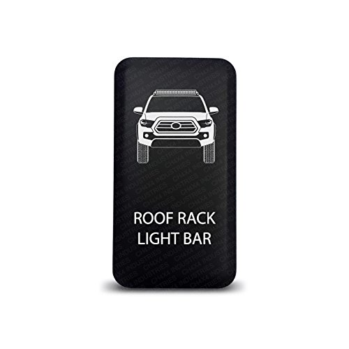 Lights Fj Cruiser Rack Roof - CH4X4 Push Switch for Toyota Tacoma 3rd Gen - Roof Rack Light Bar Symbol 2 - White LED