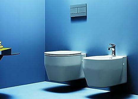 Sanitari bagno vaso wc water sospesi con bidet con coprivaso glaze
